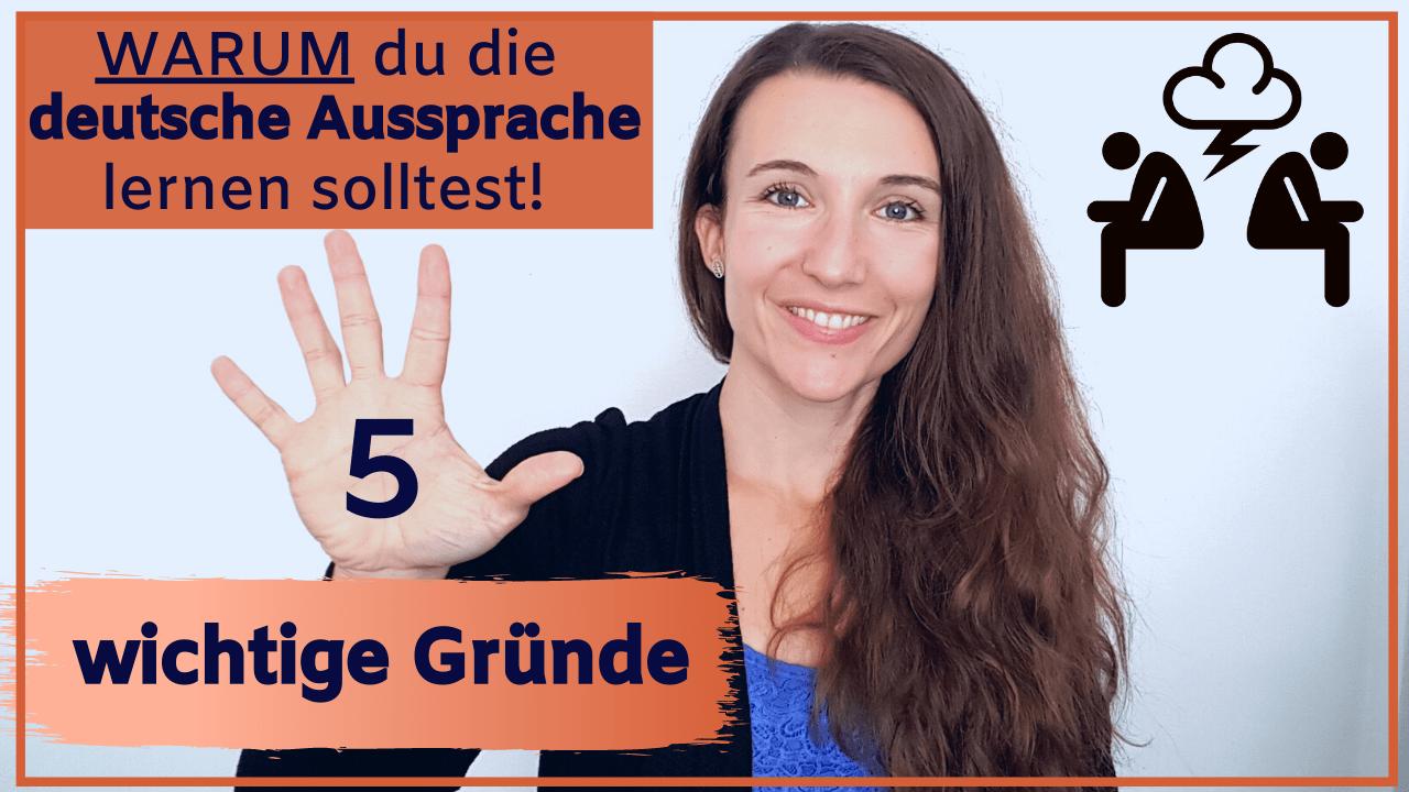 Warum du die deutsche Aussprache lernen solltest – 5 wichtige Gründe
