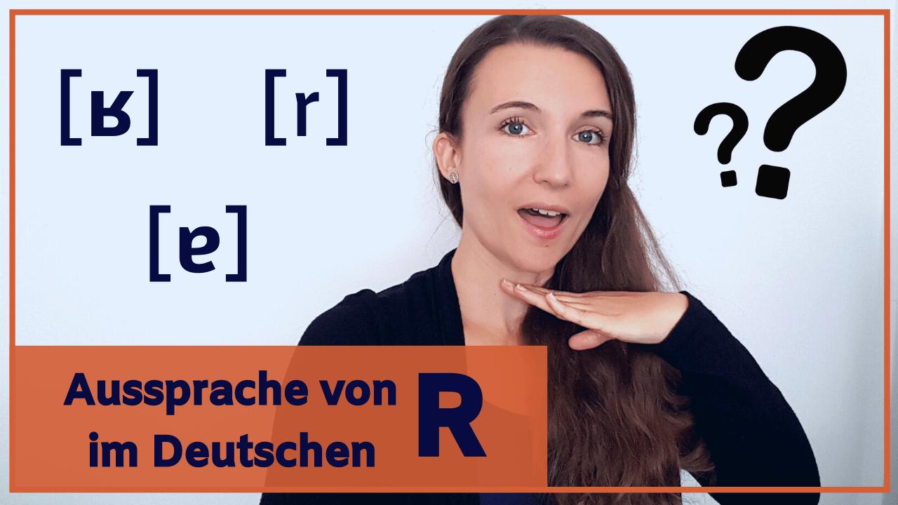 Das deutsche R aussprechen