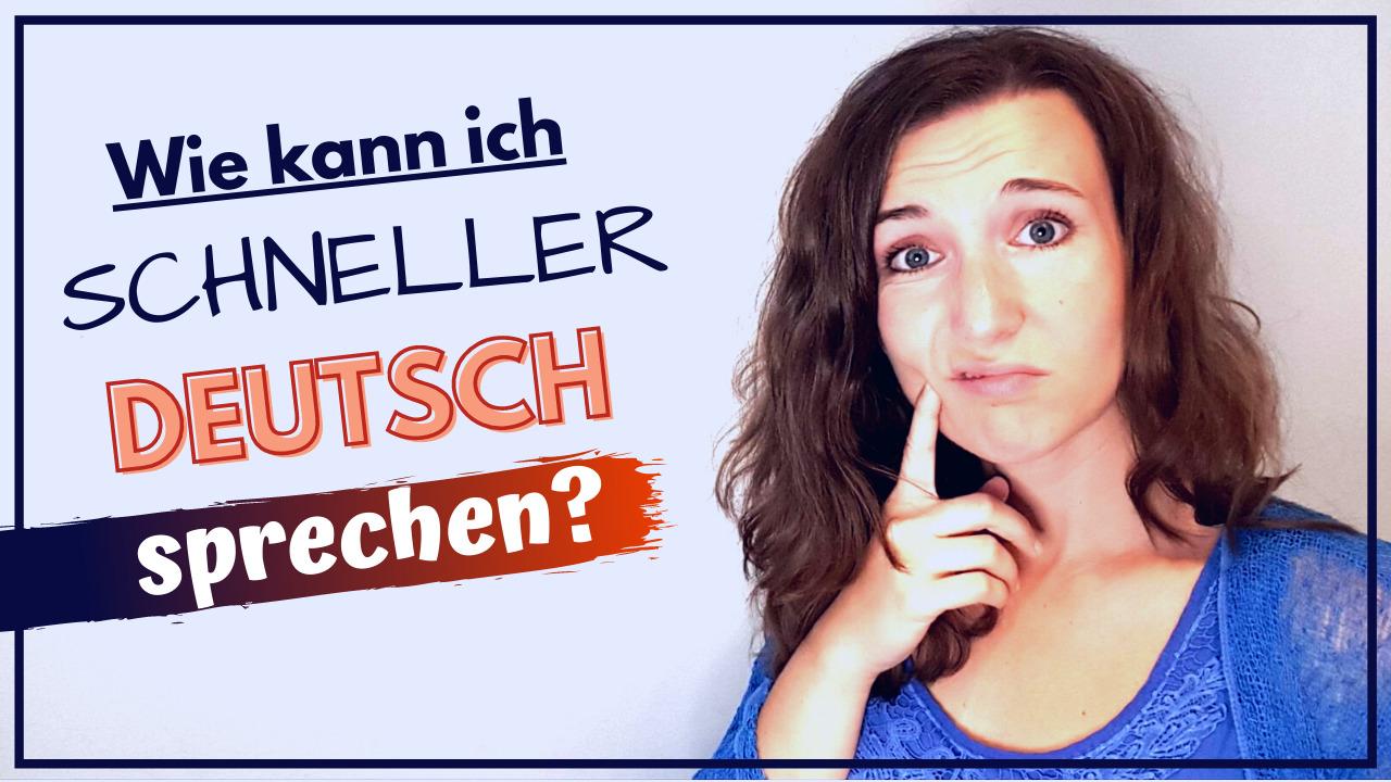 Fließender Deutsch sprechen