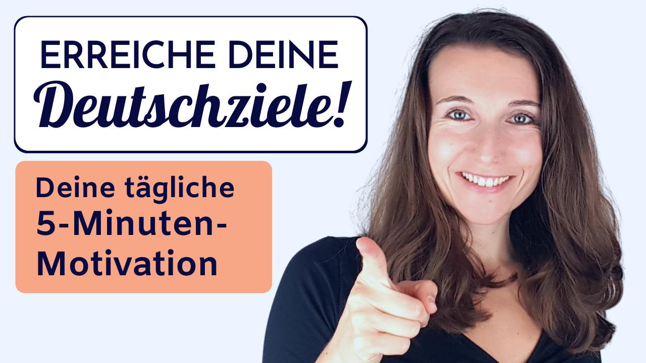 Motivation zum Deutschlernen